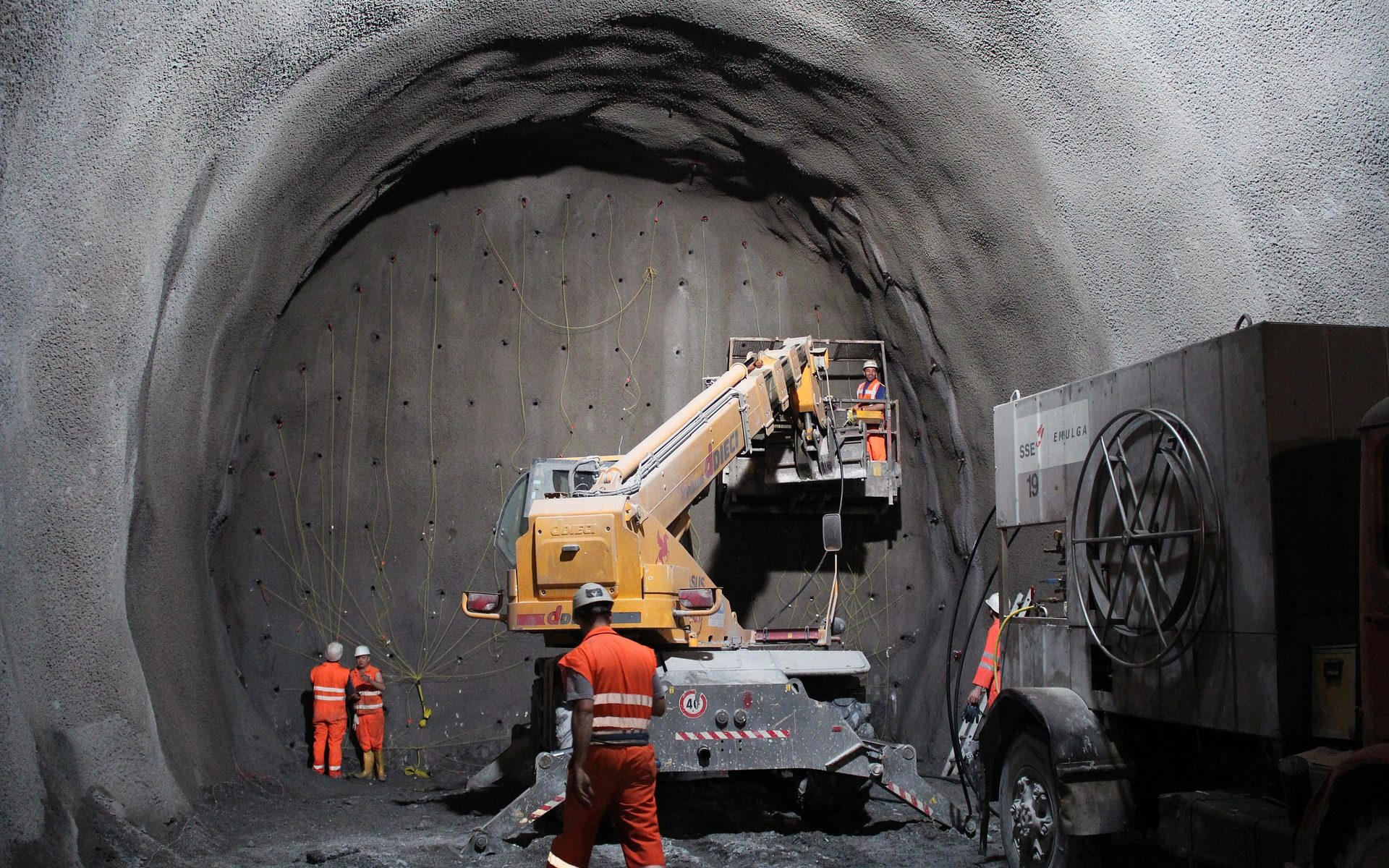 Tunnelsprengung