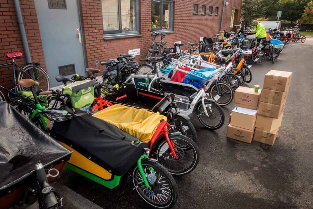 Schokofahrt - Derzeit größtest Lastenrad-Treffen Europas?